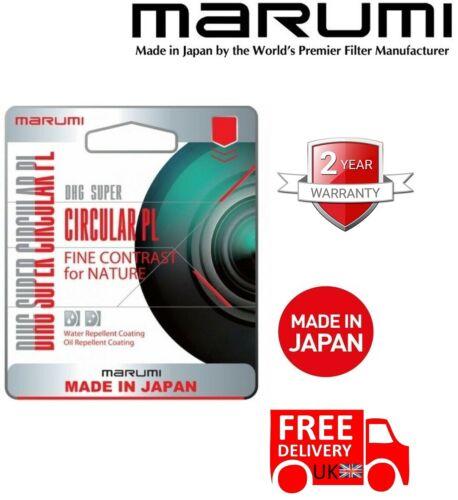 Reino Unido stock Marumi DHG Super Cicular PL Filtro 43mm DHG 43 SCIR