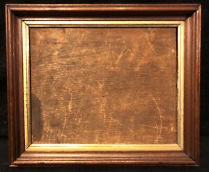 """Antique Victorian Carved Wood Frame Parcel Gold Gilt Eastlake Style 12.5""""x10.5"""""""