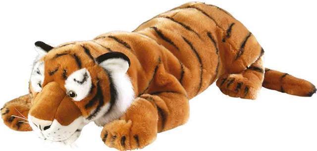 Peluche Wild Republic Tigre 76 cneuf avec etiquette  entreprise française geant
