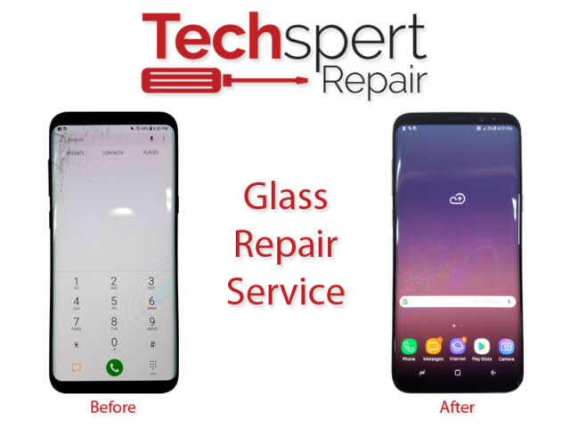 Samsung Galaxy S7 Edge Cracked Screen Glass Repair Replacement Mail In Service
