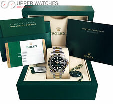 Rolex GMT-Master II Black 116713LN stainless steel and 18kt yellow gold  Mens