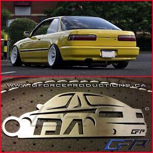 JDM Honda / Acura Integra DA, DA9, Rare Stainless Steel Custom Key