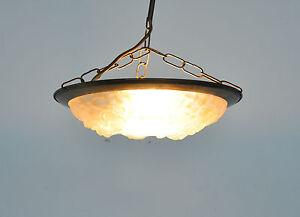 Art deco lampe hängelampe kronleuchter jugendstil france ebay