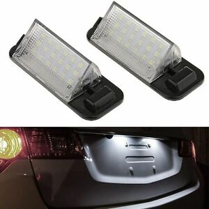 ECLAIRAGE-PLAQUE-LED-BMW-SERIE-3-E36-BERLINE-TOURING-COUPE-CABRIOLET-BLANC-XENON
