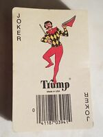 Vintage Retro Trump Playing Cards Cottage House