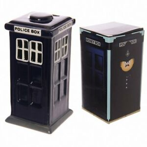 Police-Box-Tardis-Ceramic-Money-Box-by-Puckator-Ltd-Brand-New-Limited-Edition