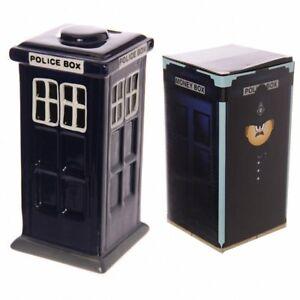 Police-Box-Tardis-Ceramic-Money-Box-by-Puckator-Ltd-Brand-New-Limited-Edition