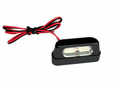 L.E.D License plate Light at Motorcycle