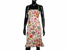 MAGGY LONDON Zauberhaftes Empire Kleid Sommerkleid Blumenprint US.12 Dt.42 TOP