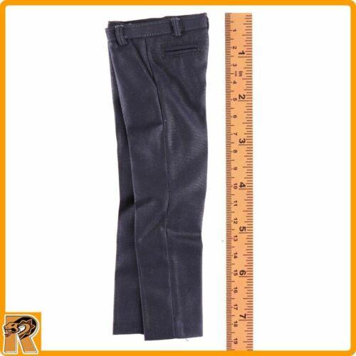 Royal Agent James-Robe noire Pantalon #2-1//6 Scale-AFS Action Figures