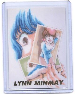 Macross Crossover Lynn Minmay Character Rubber Mascot Ball-Chain Key Chain Anime
