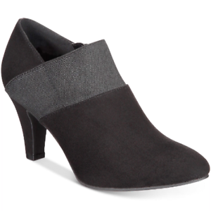 NEW Karen Scott Women's Bryann Shootie Heels Size 5.5 M Black $79