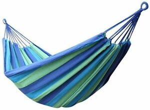 2 Person Outdoor Nylon Double Camping Garden Hammocks Chair Hanging Bed Swing
