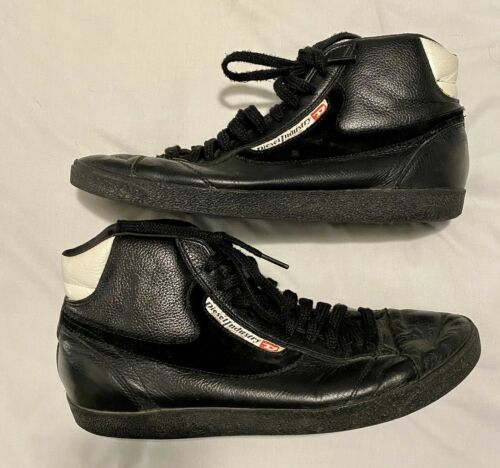 Diesel Men's High Top Black Dragon Sneakers Size 9