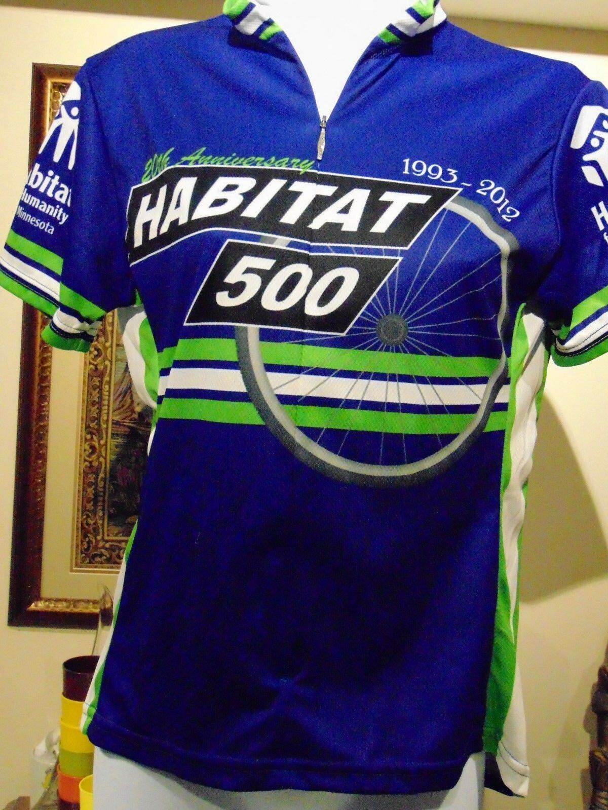 Voler Women's Habitat For Humanity Minnesota 2000 Size Small Cycling Jersey
