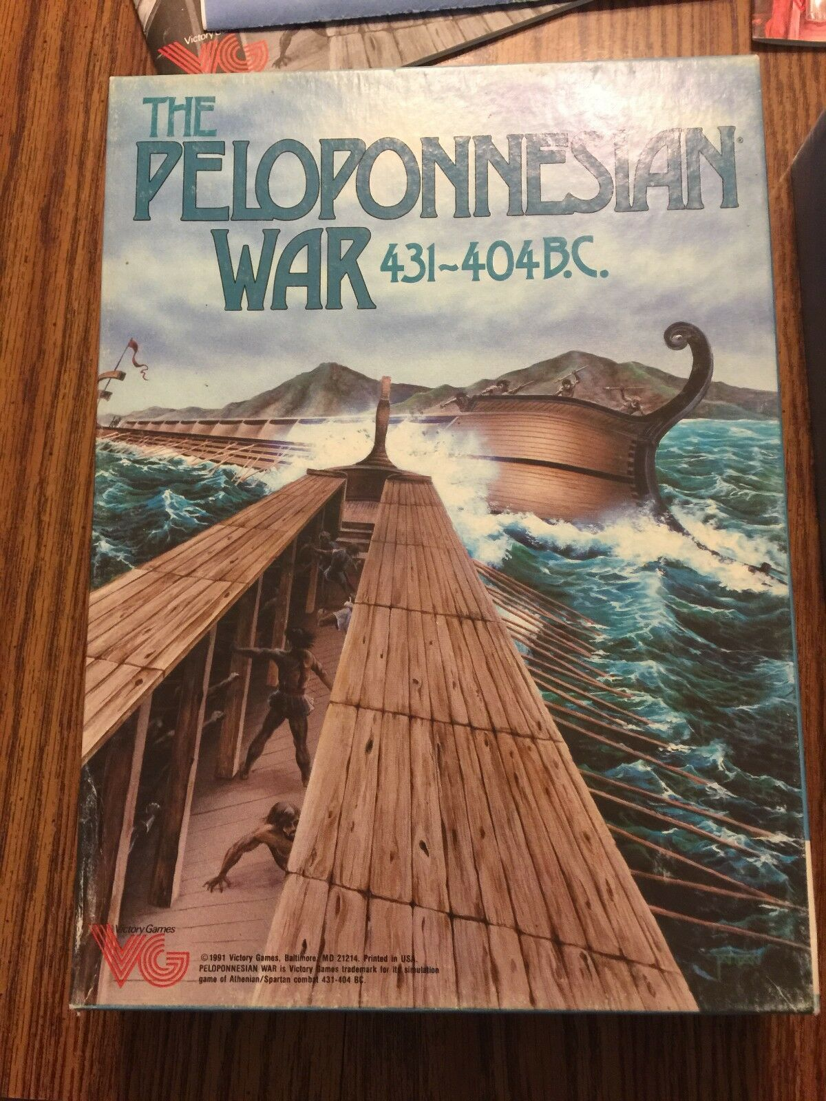 THE PELOPONNESIAN WAR 431-404 B.C. - VICTORY GAMES  Hard to find