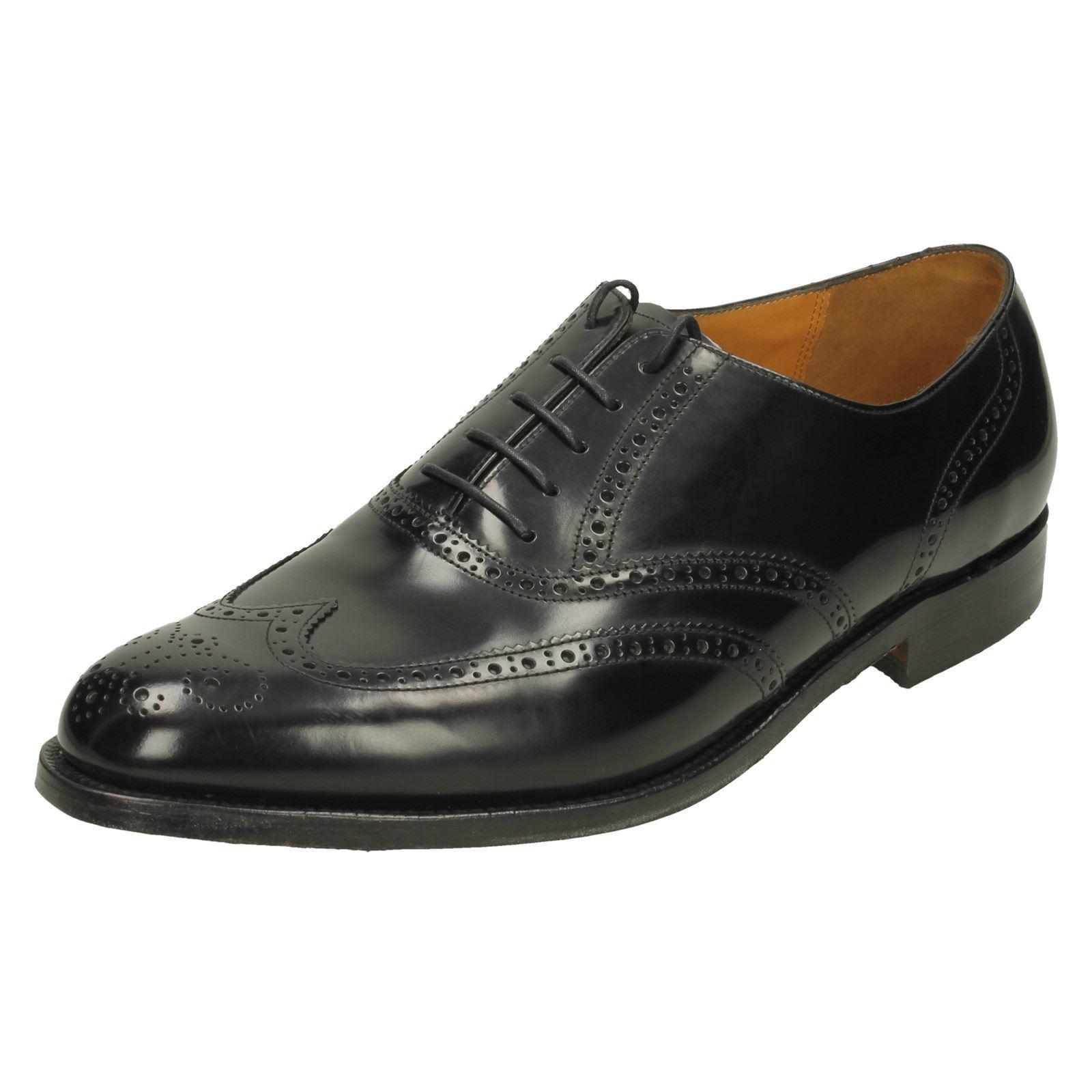 Uomo Barker Barker Barker Brogue Style Schuhes 'Albert' 520857