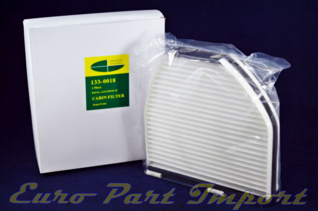 Mercedes-Benz W204 Only A/C AC Air Filter GREENLINE OEM Qty 1330018 / 2128300218