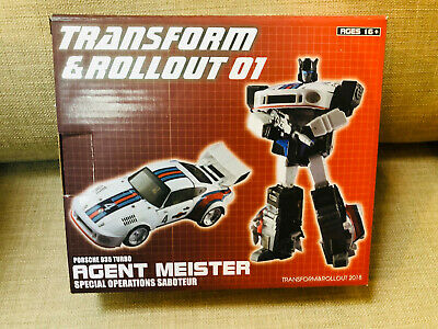 IN STOCK Transform and Rollout TnR TR-01 Jazz G1 MP Scale action figure toy