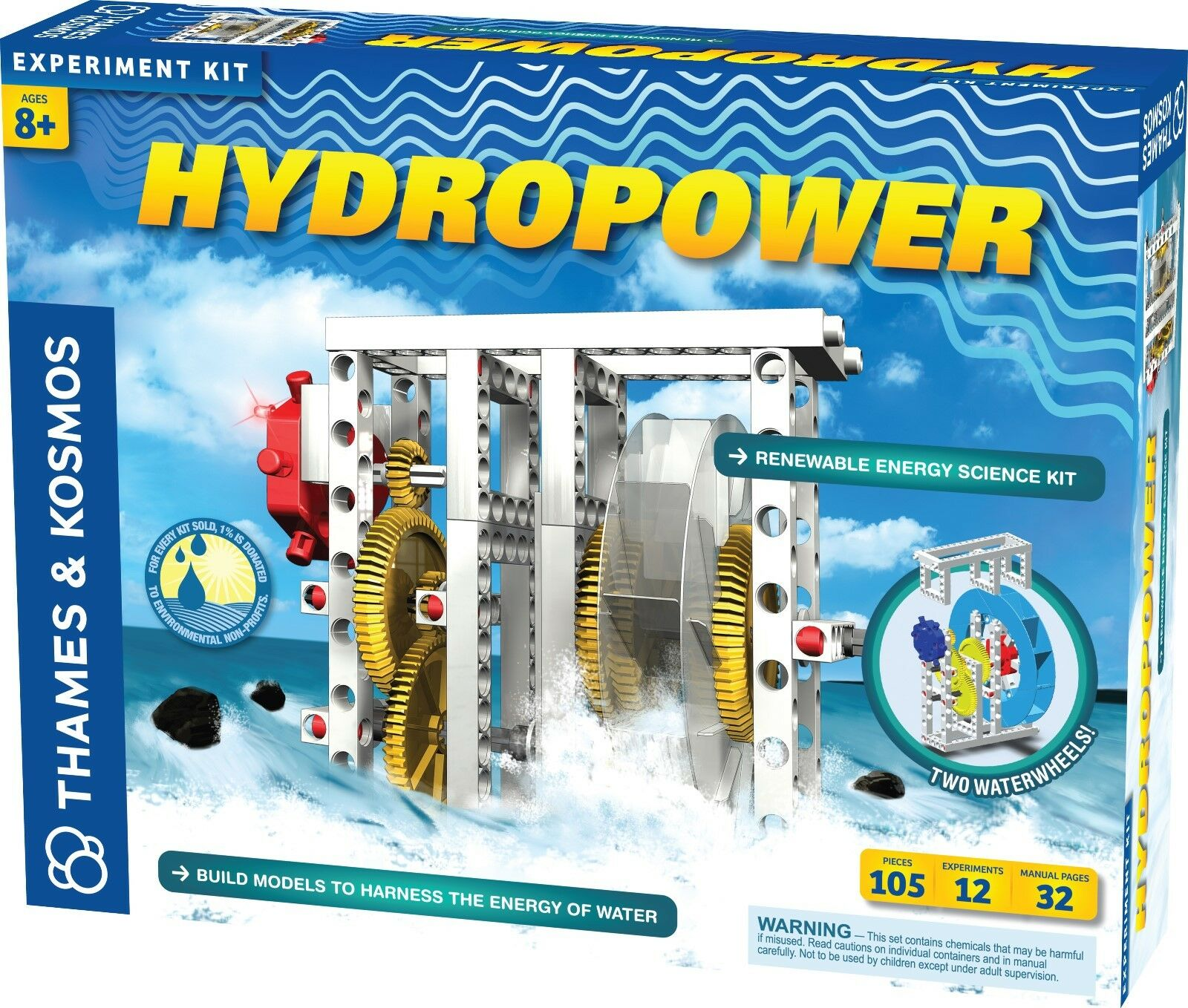 Thames and Kosmos Hydropower Science Kit