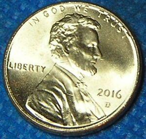 2016 D /& P  Lincoln Shield penny UNC