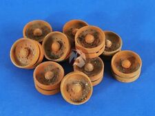 Verlinden 1/35 Burnt Out Rubber Russian T-34 Tank Road Wheels WWII [Resin] 2589