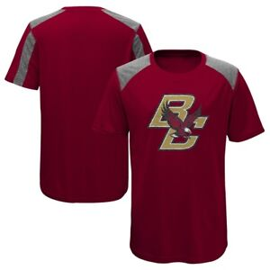 Boston-College-Eagles-NCAA-Youth-Red-034-Ellipse-034-Performance-Team-Logo-T-Shirt