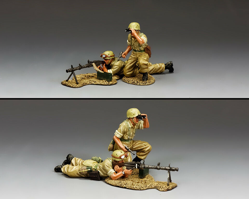KING AND COUNTRY AFRIKA KORPS KORPS The Fire Support Team (2-man set) AK120