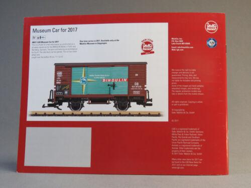 LGB US MODELS FOR 2017 TRAIN CATALOG book manual publication advertisement NEW
