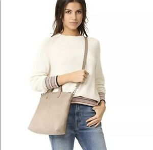 Details About Madewell Small Transport Tote Leather Crossbody Bag Boulder