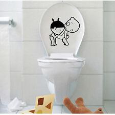 Baby Wandtattoo Lustige Zone WC Badezimmer Toiletten Türaufkleber Neu