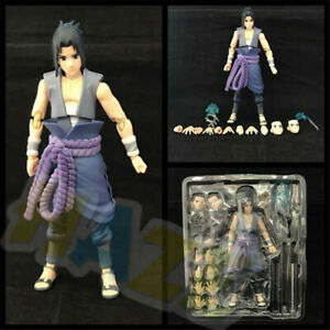 NARUTO-Shippuden-Uchiha-Sasuke-PVC-Action-Figure-Model-Toy-14cm-New-In-Box