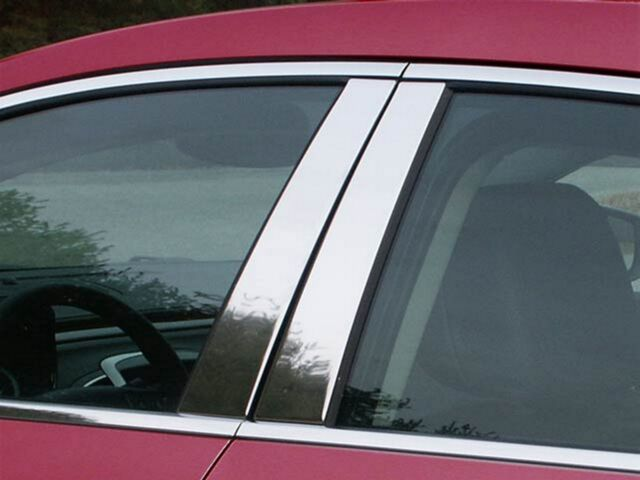 CCIPC//445 6 PC BUICK LACROSSE CHROME PILLAR POST COVERS 2010-2012