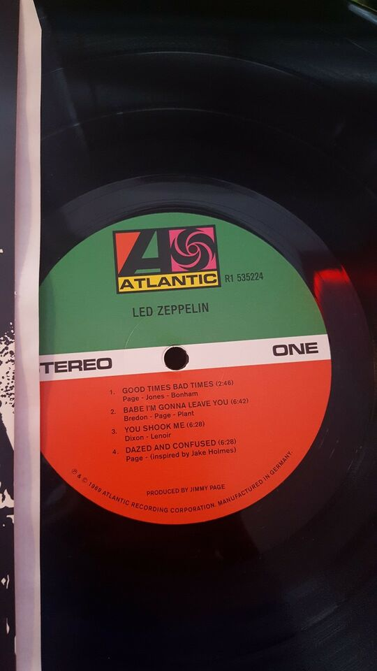LP, Led Zeppelin, Led Zeppelin