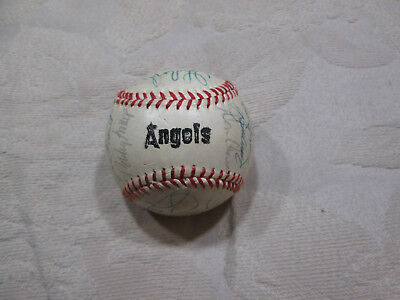 Baseball-mlb Honey Vintage 1980 California Angels Baseball With 25 Autos Lansford Grich Tanana A Plastic Case Is Compartmentalized For Safe Storage Autographs-original