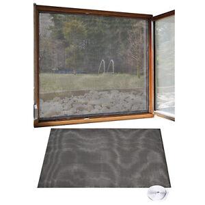 fliegennetz fliegengitter f r fenster 130 x 150 cm inkl. Black Bedroom Furniture Sets. Home Design Ideas