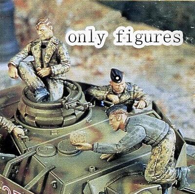1//35 Resin WWII German Panzer Crew Dinner unpainted unassembled FY022