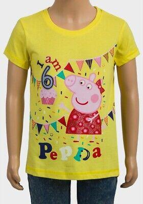 Peppa Pig Baby Girls Short Sleeve Hi-lo T-Shirt