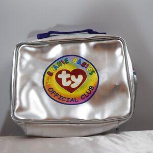 Beanie-babies-Official-Club-Silver-Bag