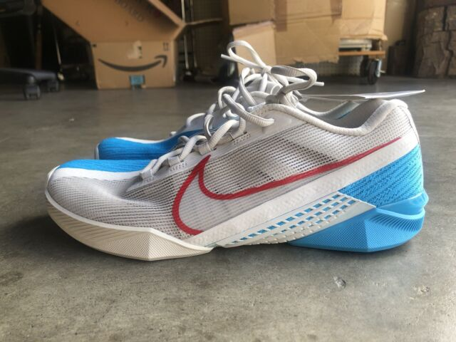 Sample NWT Nike React Metcon 2 Turbo Training Shoe sz 10 Bone Red Blue CT1243