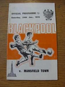 24011970 Blackpool v Mansfield Town  Light Crease Score Noted - Birmingham, United Kingdom - 24011970 Blackpool v Mansfield Town  Light Crease Score Noted - Birmingham, United Kingdom