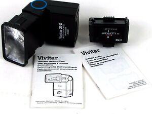 Vivitar-35-D-Thyristor-Flash-with-Vivitar-DM-C-Module-for-Canon-TESTED