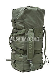US Army Military Deployment DUFFLE Duffel Flight Carry-on Sea Bag Back Pack USGI