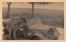 Kübelwagen mit Divisionzeichen 24. Inft. Division Tscherkassy Ukraine Ostfront