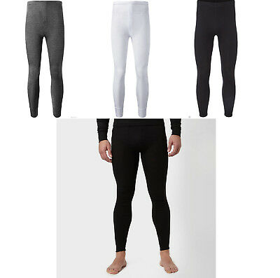NEW MENS WINTER THERMAL LONG JOHN UNDERWEAR WARM LEGGINGS BLACK WHITE GREY