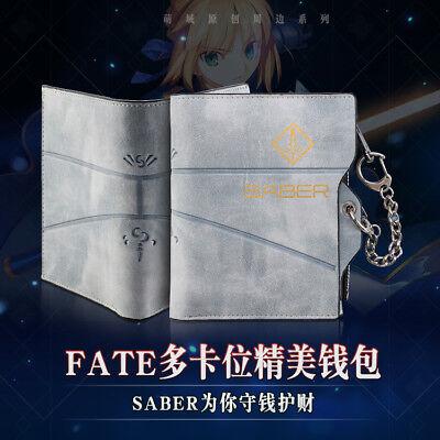 Wallet Anime Fate//Grand Order Jeanne d/'Arc Unisex Cartoon Wallet Short Purse Bag