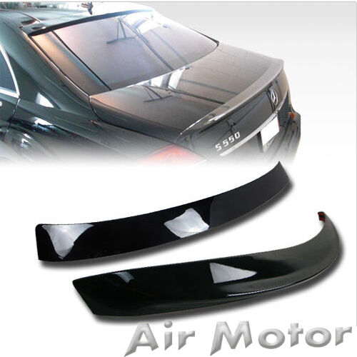 A Trunk Spoiler Wing Choose Color Painted Mercedes Benz W221 L Type Roof