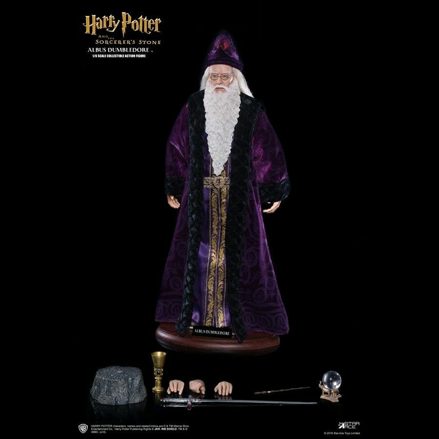 1:6 Scale Figures--Harry Potter - Albus Dumbledore 12  Figure