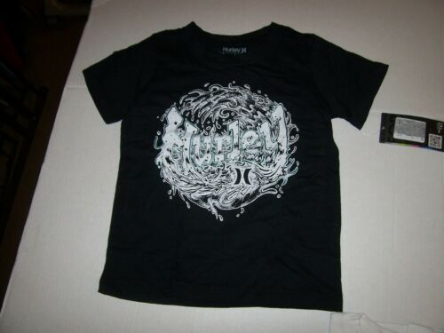 NEW HURLEY boys short sleeve pocket t shirt gray white blue black 4 5 6 or 7