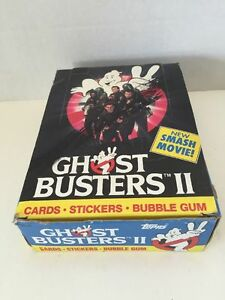 Ghostbusters-2-Movie-Cards-by-Topps-Full-Wax-Box-36-packs
